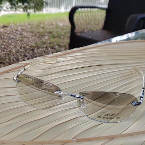 Mirrored unisex sunglasses